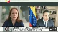 Vea a Samuel Moncada en seminario en línea de la ONU sobre sanciones en tiempos del Covid-19 (+Video)