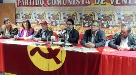 Comunicado del Buró Político del Partido Comunista de Venezuela (PCV)