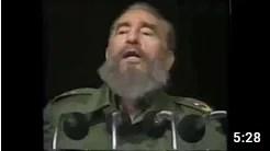 Comandante Fidel: Pese a todos los reveses que hayamos sufrido, al capitalismo no volveremos