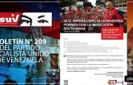 Lea el Boletín N° 209 del Partido Socialista Unido de Venezuela (+Descarga)