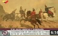 Apertura del Arca con el Acta de Independencia de Venezuela a sus 209 años, 5 Julio 2020 (+Video)