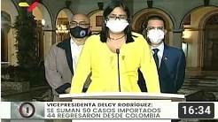 Reporte Coronavirus Venezuela, 30/07/2020: 701 casos y 4 fallecidos, reportó Delcy Rodríguez (+Video)