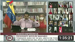 Presidente Maduro encabeza videoconferencia con el PSUV, 03 agosto 2020 (+Video)