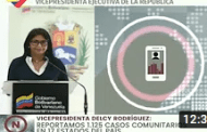 Reporte Coronavirus Venezuela, 19/08/2020: 1.171 nuevos casos y 6 fallecidos reporta Delcy Rodríguez
