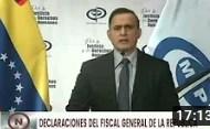 Fiscal Tarek William Saab sobre Carlos Lanz y su desaparición, rueda de prensa el 28 agosto 2020 (+Video)