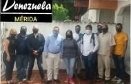 Reunión del equipo político y candidatos de la Alianza Venezuela Unida.