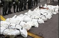 Las masacres llevan 100 años enlutando a Colombia
