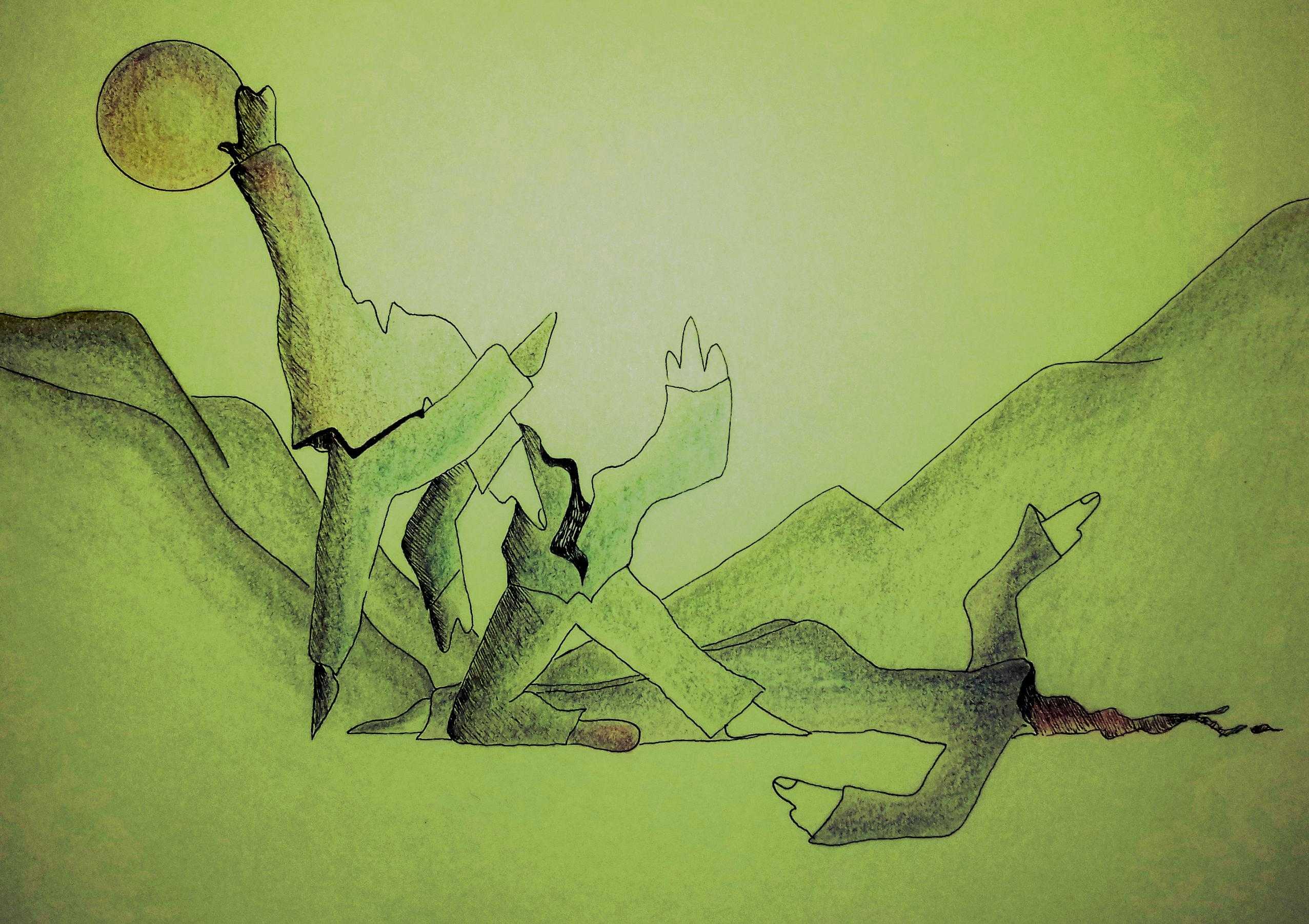 El país del olvido, John Villegas