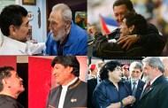 El Diego Mito es inseparable de Fidel el Mito, de Chávez el Mito y de Evo el Mito.