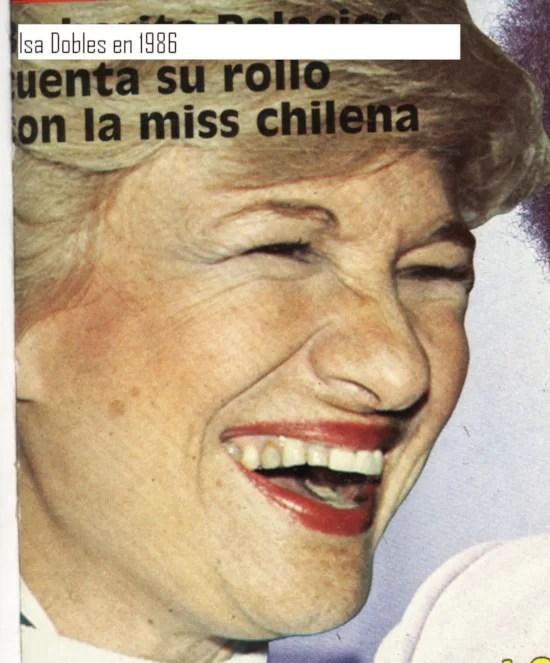 HEMEROTECA: Así estaba Isa Dobles en 1986, cuando viajaba a Cuba y se sentía revolucionaria...