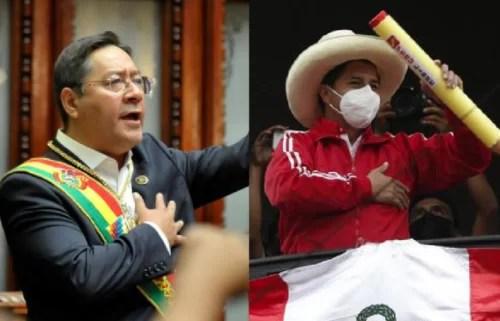 Se crece la revolución en América Latina... Arce y Castillo instalarán «un gabinete binacional»...