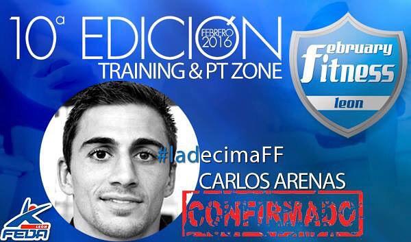 February Fitness León 2016. Carlos Arenas
