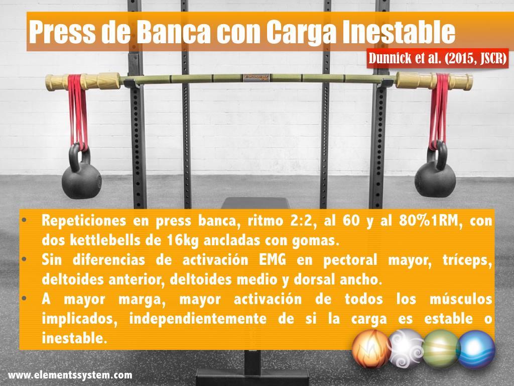 Press De Banca - Ensa Sport