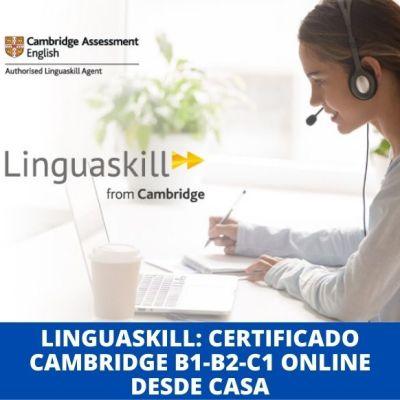Linguaskill certificado Cambridge B1 B2 C1