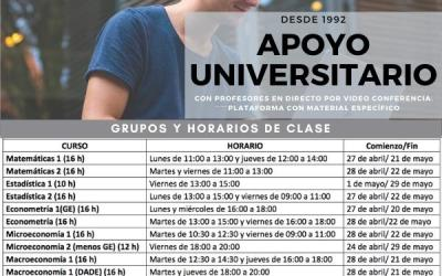 Apoyo universitario online
