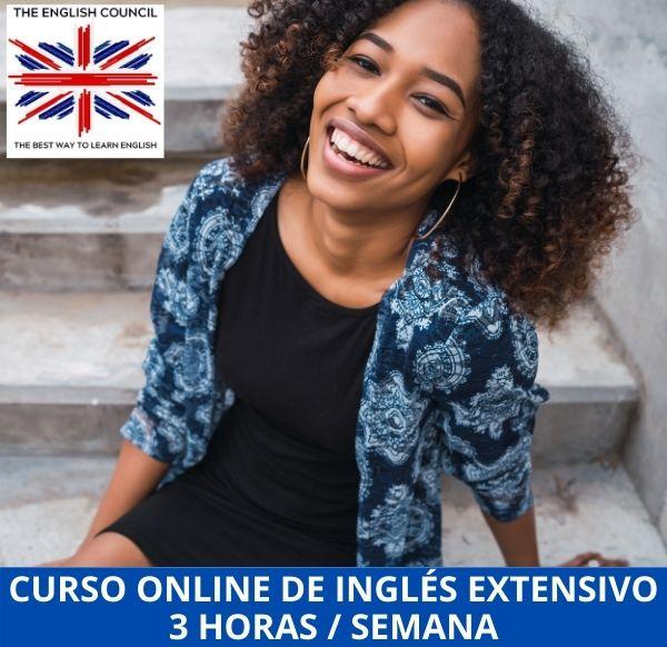 Curso online de inglés extensivo 3 horas por semana
