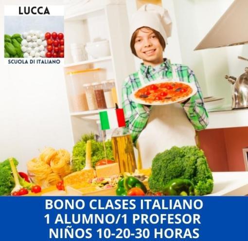 Curso online de italiano para niños