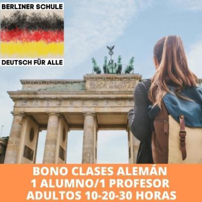 Clases particulares de alemán online