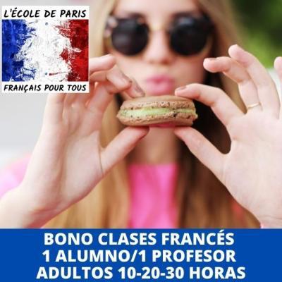 Bono clases de francés online