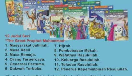 Ensiklopedia Anak The Great Prophet Muhammad - Sirah Nabawiyah Nabi Muhammad SAW