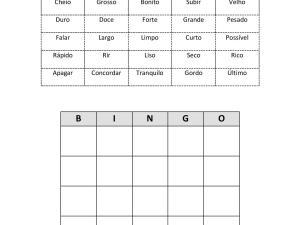 Jogo didático de português para estrangeiros, onde os estudantes praticam adjetivos variados com toda turma de forma divertida e interativa.