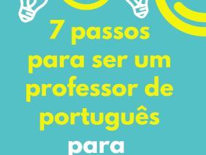 Esse livro é um guia para professores que estão dando seus primeiros passos na área de português para estrangeiros com dicas para acelerar seu crescimento!