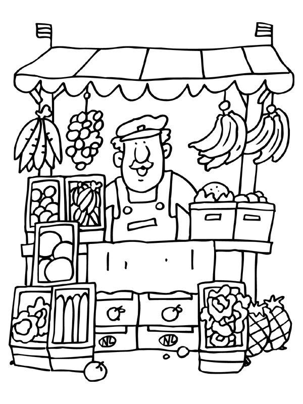 Desenhos para colorir Profissões