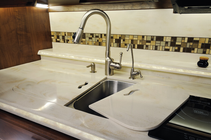 kitchen sinks denver waverly curtains 2016 aspire luxury motorhome | entegra coach