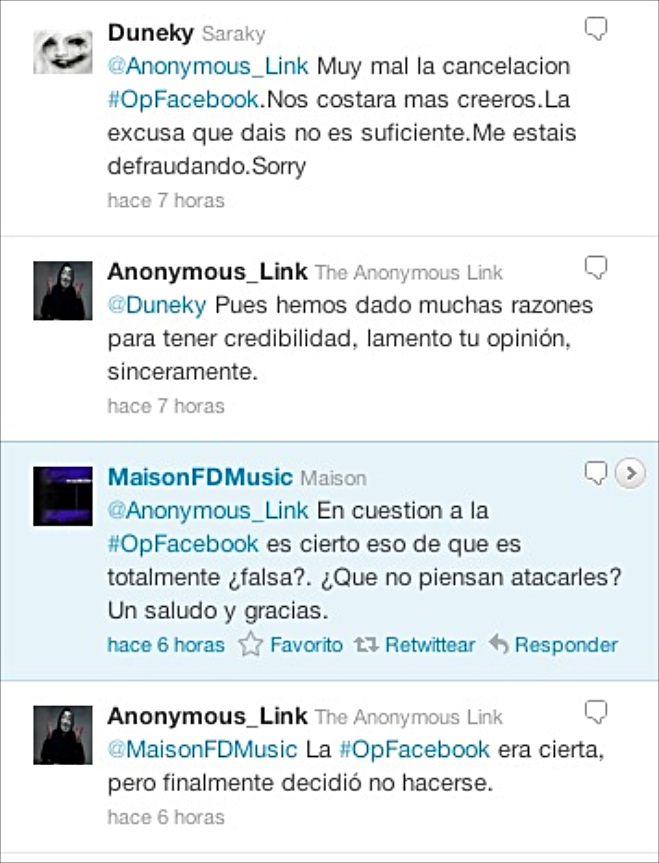 Plan de destruir Facebook sí existió. ¿División en Anonymous?