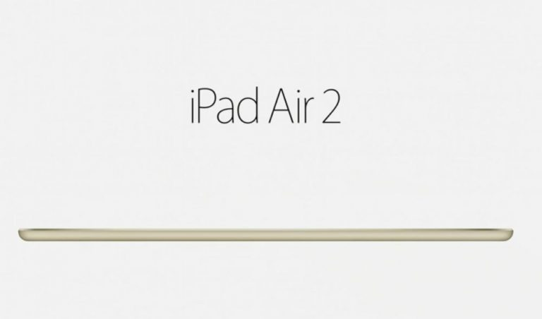 iPad Air 2 es oficial, estas son sus novedades · ENTER.CO