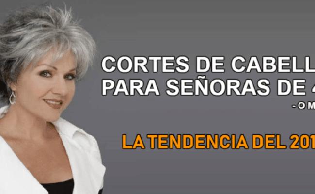 10 Cortes De Cabello Para Señoras De 40 Años Que Son