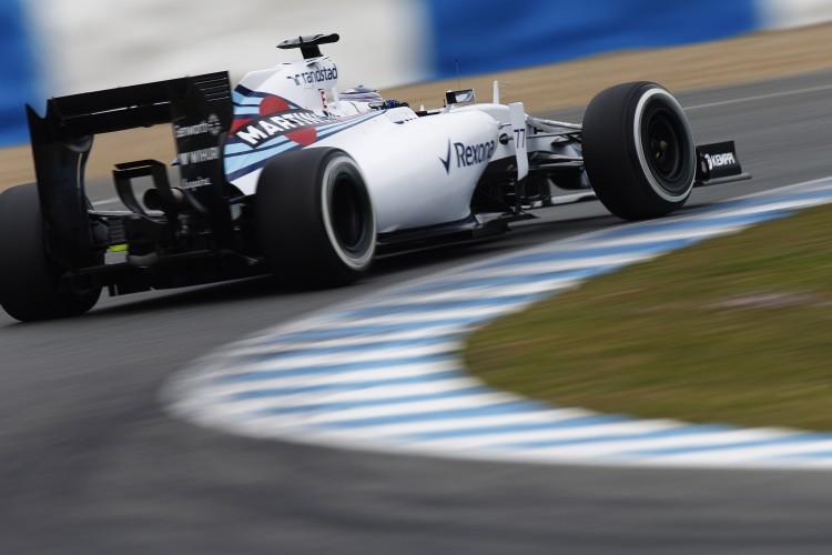 Williams F! Testing Jerez