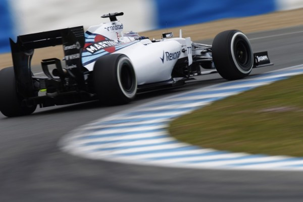 Williams F! Testing Jerez