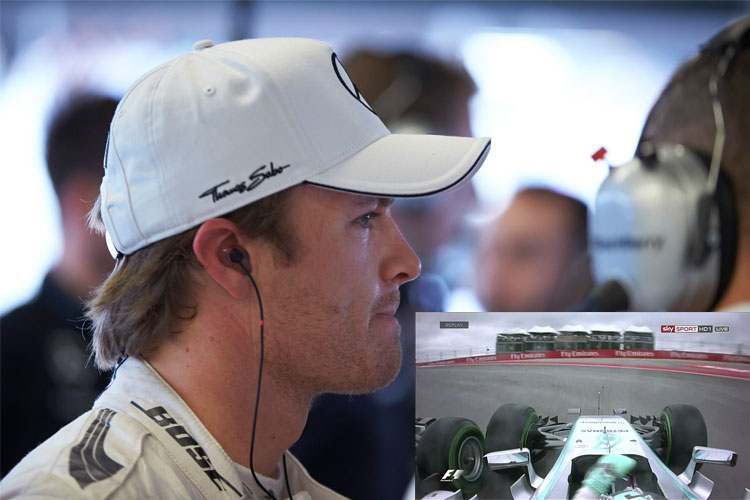 Rosberg unhappy with Lewis Hamilton, again