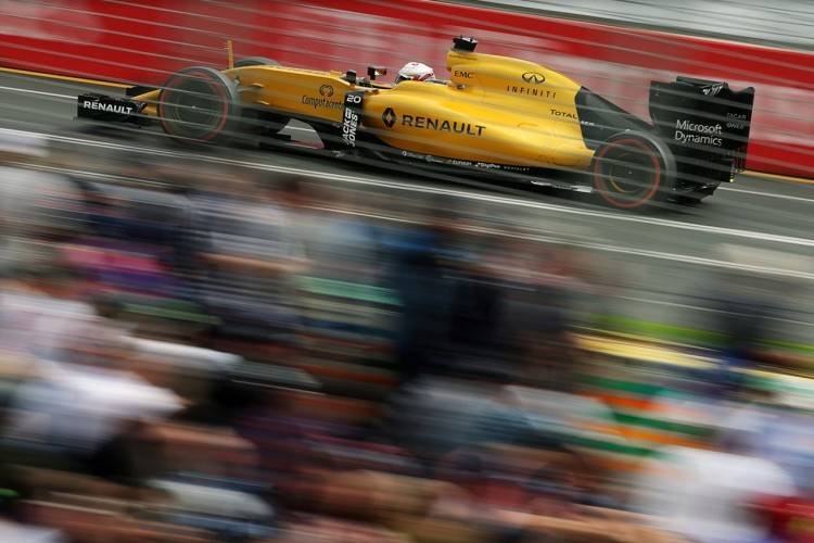 Renault F1 in Melbourne