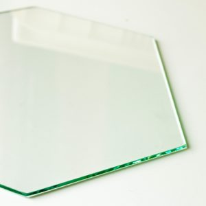 Piano in vetro per stampanti delta