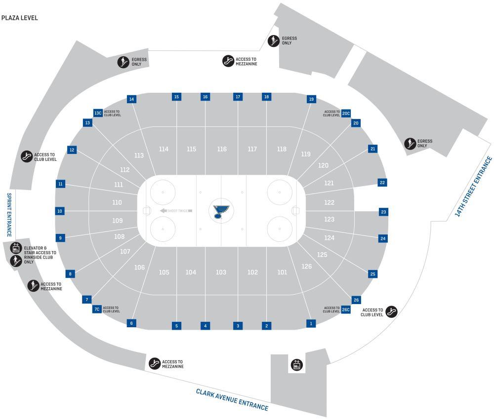 medium resolution of  plaza level portal seat map