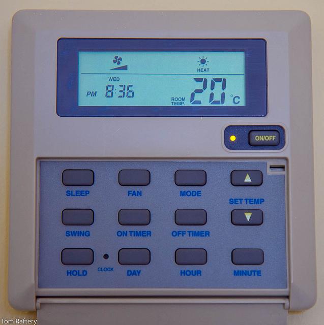Dumb Thermostat UI