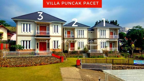Villa Puncak Pacet Mojokerto 6 Unit Villa Kapasitas Total