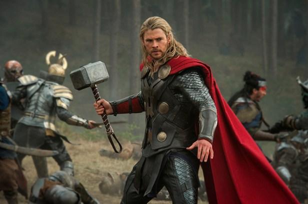 """Marvel's Thor: The Dark World""Thor (Chris Hemsworth)Ph: Jay Maidment© 2013 MVLFFLLC. TM & © 2013 Marvel. All Rights Reserved."