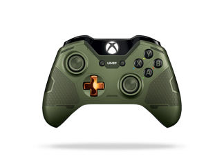 Xbox One Limited Edition Halo 5 Master Chief Controller Front Render