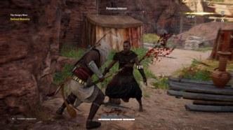 Assassin's Creed Origins combat finisher