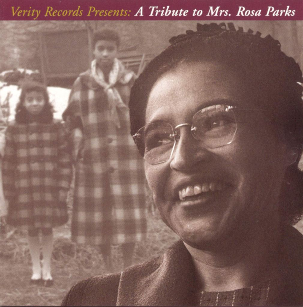 The cover for Verity Records' 1995 gospel album A Tribute to Mrs. Rosa Parks. Working on this album helped shape Paul's experience with cause marketing.