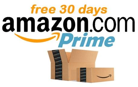 Amazon Prime Free For 30 Days (US)