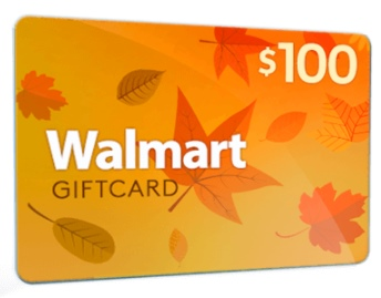 Get a $100 Walmart Gift Card (US)