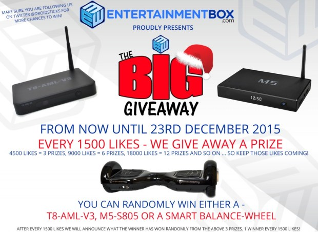 FACEBOOK BIG GIVEAWAY