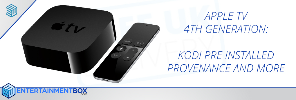 APPLE TV 4 WITH KODI