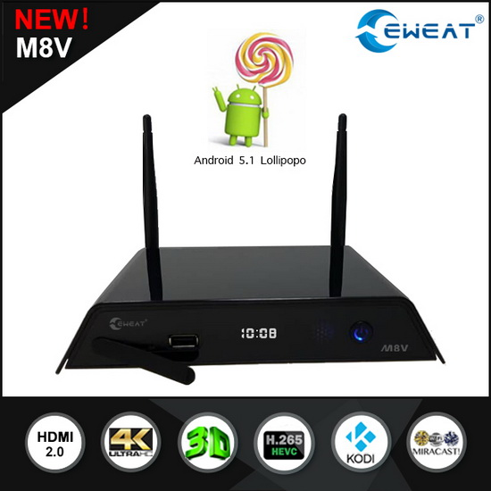 M8V TV Box latest Android Lollipop 5.1.1 custom Firmware Download