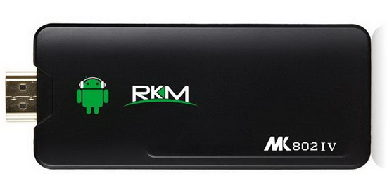 Rikomagic MK802IV TV Stick Android KitKat custom firmware Download