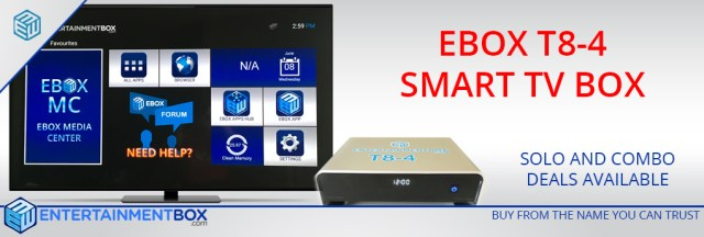 T8-4 T8 V4 Android Kodi TV Box
